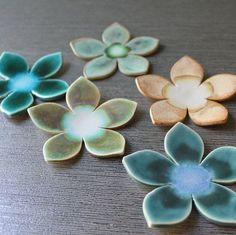 ceramic flower | Found on etsy.com