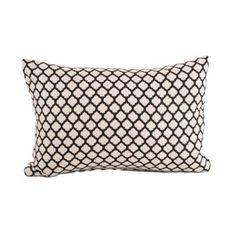 Kira pillow in black / Baxter Designs