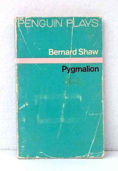 Pygmalion by George Bernard Shaw vintage paperback Penguin Plays illustrated Bernard Shaw Pygmalion, Vintage Penguin, George Bernard Shaw, Penguins, Plays, Illustration, Games, Penguin, Illustrations