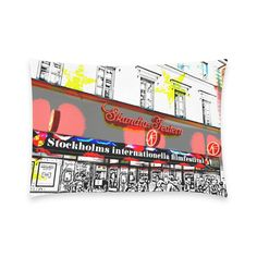 20% Off Discount Coupon. Coupon Code: 5745C1DD1A284641  - 'Stockholm Filmfest' New Pillow Case Pillow Inner Included.