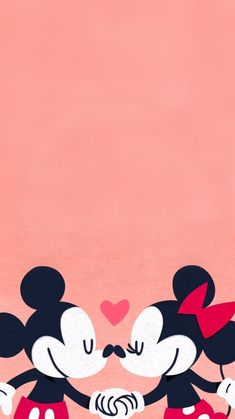 Mickey And Minnie Love, Mickey Mouse And Friends, Mickey Minnie Mouse, Disney Phone Backgrounds, Wallpaper Backgrounds, Iphone Wallpaper, Mickey Mouse Wallpaper, Disney Wallpaper, Disney Valentines