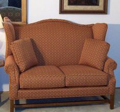 Shop For The Lancer HomeSpun High Back Settee At Sheelyu0027s Furniture U0026  Appliance   Your Ohio, Youngstown, Cleveland, Pittsburgh, Pennsylvania  Furniture ...