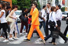 Deixe o laranja conquistar você.