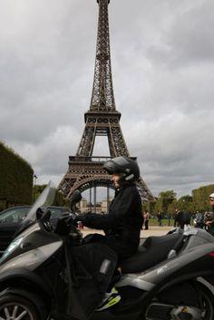 Vespa in Paris