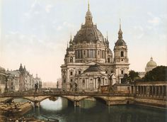 Berliner Dom und Friedrichsbrücke, Berlin, ca. 1900