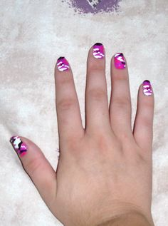 Camo! no more nail polish to get these designs
