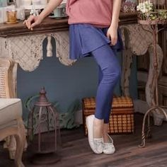 #RingBear – Inset Skirt Leggings'  ##yesstyle #womensapparel #falldashion