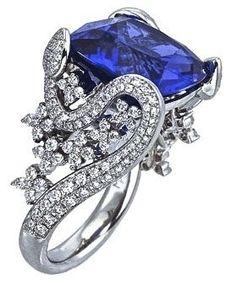 Elegant Safire blue