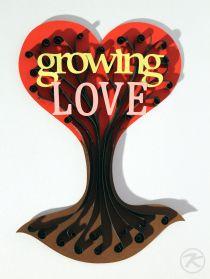 quilling tree of growing love by Patrick Krämer