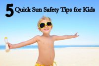 5 Quick Sun Safety Tips for Kids  @Pediatric Therapy Center-for all of ours pins, please visit our page at pinterest.com/pedthercenter/