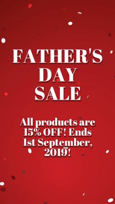 🌟 FATHER'S DAY SPECIALS 🌟  🔥 Available NOW - 1st September 🔥  🎯 15% OFF AVAILABLE 🎯  🆓 GIFT WHEN BOTH PURCHASED 🆓 Father's Day Specials, Fathers Day Sale, Feeling Great, Envy, All Things, September, Feelings, Gift, Gifts