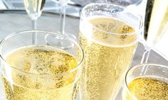 Are flutes losing their fizz? Champagne tastes best from a TULIP glass