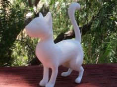 Cat (standing up) by Scintilla - Thingiverse