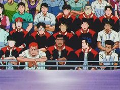 Slam Dunk Old Anime, Manga Anime, Anime Art, Slam Dunk Manga, Inoue Takehiko, Basketball Teams, Aesthetic Anime, Streetwear Fashion, Childhood