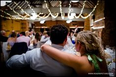 Guests listening to the speeches at Veronica and Ilia's Lainston House wedding -