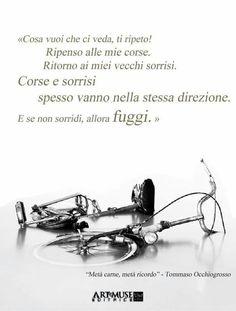 #tommasoocchiogrosso #writer #citazioni Metà carne, metà ricordo #frasi