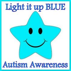 making these buttons for autism awareness for myself and my instructional aides!