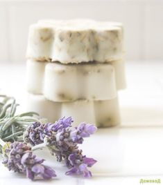 Мыло своими руками с лавандой и овсянкой