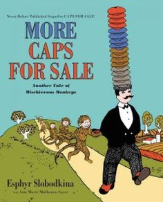 October 28, 2015. In this sequel to the classic Caps for Sale, the cap peddler returns and is faced with a band of mischievous monkeys who mimic his every move.