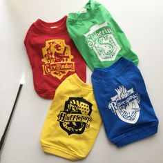 Hey, I found this really awesome Etsy listing at https://www.etsy.com/listing/510246211/hogwarts-houses-hp-dog-clothes-dog