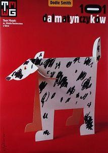 101 Dalmatians, Polish Theater Poster