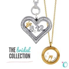 I love the bridal collection! www.charmingsusie.origamiowl.com