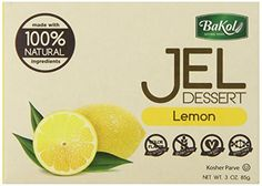 Bakol Jel Dessert Lemon 3 Ounce Pack of 12 * Check this awesome product by going to the link at the image. #DessertsPorn