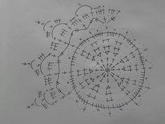 Bombka Crochet Stitches Chart, Crochet Doily Patterns, Crochet Motif, Crochet Doilies, Christmas Bells, Christmas Cross, Christmas Baubles, Christmas Decorations, Crochet Tree