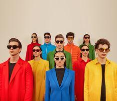Eli Rezkallah is a fashion photographer, creative director and artist. Pop Art Fashion, Foto Fashion, Colorful Fashion, Group Photography, Portrait Photography, Fashion Photography, Aesthetic Japan, Aesthetic Photo, Photoshoot Themes