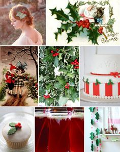 Mood Board Monday: #Christmas Holly (http://blog.hgtv.com/design/2013/12/02/mood-board-monday-christmas-holly/?soc=pinterest)