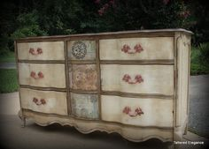 Drawer French Provincial Dresser