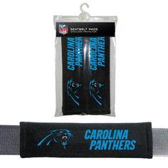 Carolina Panthers NFL Seatbelt Pads (Set of 2)