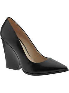 """Love this """"almost wedge."""" So comfy we can wear this day to night."""