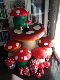 Toadstool collection.
