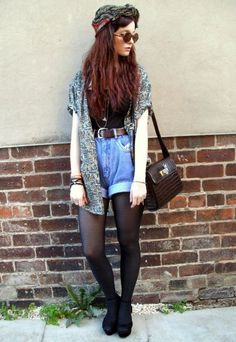 fashion, outfit, and grunge