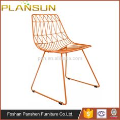 High quality Modern replica dining room furniture Lucy Wire Chair