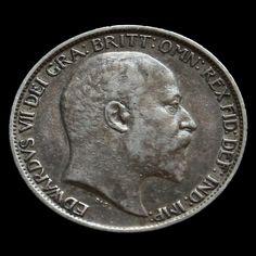 1906 Edward VII Silver Sixpence VF