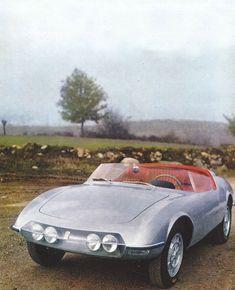 Abarth 1000 Spider (Pininfarina), 1964