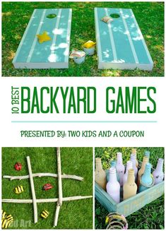 Looking to have a little family fun, right in your own backyard? There are lots of fun activities, you can do without ever leaving home! We love playing games in the yard and we've rounded up some of the best backyard games for kids and adults.