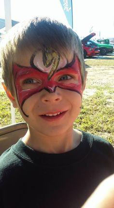 #flashfacepaint #superherofacepaint #funfacesballooncreationsfacepaint #burnyzzfacepaint #ocalafacepaint Flash Face Paint, Superhero Face Painting, Carnival, Carnavals