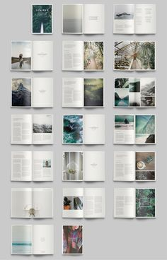 Find tips and tricks, amazing ideas for Portfolio layout. Discover and try out new things about Portfolio layout site Magazine Layout Design, Book Design Layout, Print Layout, Book Cover Design, Magazine Layouts, Ideas Magazine, Booklet Design, Mise En Page Portfolio, Portfolio Book
