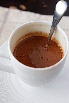 Chocolat chaud onctueux à la vanille, comme chez Angélina | La cuisine de Josie