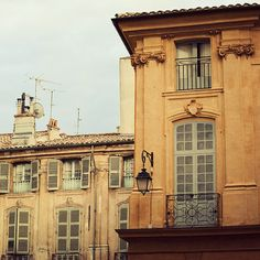 Town square in Aix-en-Provence... another someday :)  I love this photographer, she's likely my favorite.  Everything she photographs is just so dreamy...