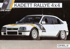 Opel Kadett Rallye ca. 1986