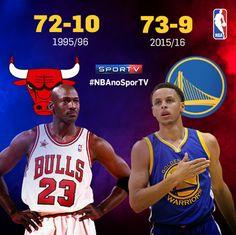 Conteúdo criado para as redes sociais do canal SporTV sobre o recorde de vitórias do Golden State Warriors na temporada 2015/2016 da NBA.