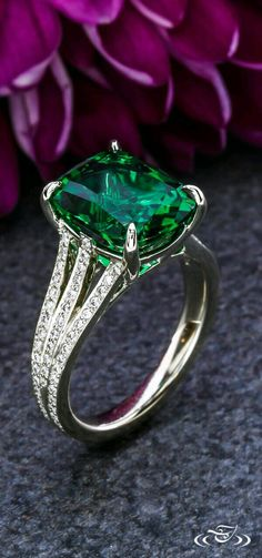 Gorgeous emerald ring    Supernatural Style | https://pinterest.com/SnatualStyle/