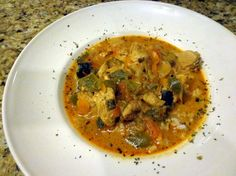 Authentic Thai Red Curry With Chicken