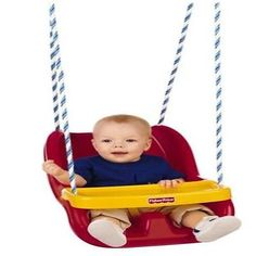 Fisher-price Baby Swing To Toddler Outdoor In Red
