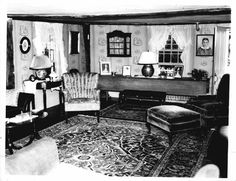 1930s Living Room In 2019 1930s Living Room 1930s Home