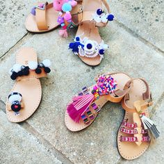 Handmade sandals for kids by Bliss Follow us in Facebook
